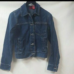 Mossimo Blue jpJean Trucker  Jacket Size Small